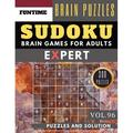 Expert Sudoku Puzzle Books: Expert Sudoku: 300 Sudoku Extremely Hard Puzzle Books - Sudoku Hard to Extreme Difficulty Maths Book Puzzles and Solutions Times for Adult and Senior (Hard Sudoku Puzzle Book) (Paperback)