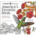 Cornell Lab of Ornithology: America's Favorite Birds : 40 Beautiful Birds to Color (Paperback)
