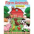 Farm Animals Coloring Book for Kids : Super Fun Coloring Pages of Animals on the Farm - Cow, Horse, Chicken, Pig, and Many More! (Paperback)