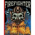 Fire Figther: Firefighter Fire And Rescue : The notebook college ruled for each fireman and friend of the fire brigade firefigther. (Series #4) (Paperback)