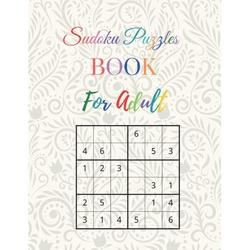 Sudoku Puzzle Book For Adults: Easy to Hard Puzzles for Adults . Over 300 Puzzles & Solutions: Adult Activity Books (Paperback)
