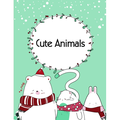 Perfect Gift: Cute Animals : A Coloring Pages with Funny and Adorable Animals Cartoon for Kids, Children, Boys, Girls (Series #17) (Paperback)