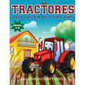 Tractores Libro Para De Colorear Para Niños Edades 4-8 : El regalo perfecto basado en la granja para niños pequeños y niños de 4 a 8 años (libros para colorear para niños y niñas) (Paperback)