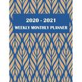 2020-2021 Weekly Monthly Planner : Two Year Academic 2020-2021 Calendar Book, Weekly/Monthly/Yearly Calendar Journal, Large 8.5 X 11 Daily Journal Planner, 24 Months Calendar, Agenda Planner, Calendar Schedule Organizer Journal Notebook