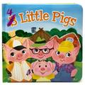 4 Little Pigs: Small Padded Board Book 3 Pack (Board Book)