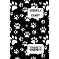 Weekly Diary Twenty Twenty: 6x9 week to a page 2020 diary planner. 12 months monthly planner, weekly diary & lined paper note pages. Perfect for teachers, students and small business owners. Black & w