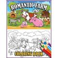 Romantic Farm Coloring Book : 30 Big, Simple and Fun Designs Farm Vehicles Farm Animals And More - Cow, Horse, Chicken, Pig, and Many More! (Paperback)