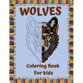 WOLVES Coloring Book For kids : A Unique Wolf Designs For Wolf Lovers/wolf coloring book/Wolf Coloring Books For Girls and Boys/ Amazing Collection of Wolf Coloring Pages for Kids /jungle book (Animal Coloring Books for kids) (Paperback)