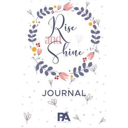 Rise and Shine Journal: Lined Journal with Premium Paper, Perfect for School, Office & Home (Gratitude Journal, Mental Health Journal, Mindfulness Journal, Self-Care Journal): Lined Journal with Premi