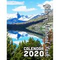 Glacier National Park Calendar 2020 : Scenery from One of Our Country's Most Beautiful and Treasured Places (Paperback)