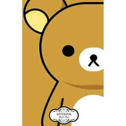 """Notebook: Journal Dot-Grid, Graph, Lined, Blank No Lined: Rilukkuma: Small Pocket Notebook Journal Diary, 120 pages, 5.5"""" x 8.5"""" (Blank Notebook Journal) (Paperback)"""