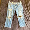 Levi's Jeans | Men Levis 541 Ripped Jeans 46 Waist | Color: Blue | Size: 46