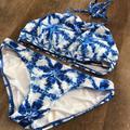 Michael Kors Swim | Like New! Michael Kors Swimsuit | Color: Blue/White | Size: Xs
