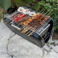 SUNNY HOUSE Collapsible & Portable Handle Design Bbq Grill For Outdoor Bbq, Size 26.0 H x 23.5 W x 17.0 D in   Wayfair W57623444