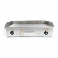 JOYGOGO Electric Griddle Flat Top Grill 4400W Hot Plate BBQ Countertop Commercial Grill Stainless Steel in Gray   Wayfair 3561