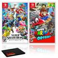 Nintendo Super Smash Bros. Ultimate Bundle with Super Mario Odyssey
