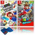 Super Mario Party + Super Mario Odyssey - Two Game Bundle - Nintendo Switch