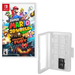 Super Mario 3D World + Bowser's Fury with Game Caddy