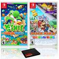 Yoshi's Crafted World + Paper Mario Origami King - Two Game Bundle - Nintendo Switch