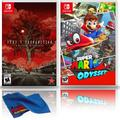 Deadly Premonition 2: A Blessing in Disguise + Super Mario Odyssey - Two Game Bundle - Nintendo Switch