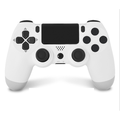 New Wireless Controller for PS4- Wireless Controller, PS4 controller, PS4 console/computer universal controller, Support 3 ways of Bluetooth/computer wireless/wired connection(White)
