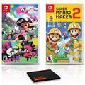 Splatoon 2 Game Bundle with Super Mario Maker 2 for Nintendo Switch