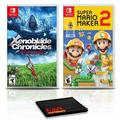 Xenoblade Chronicles: Definitive Edition Game Bundle with Super Mario Maker 2 - Nintendo Switch