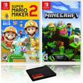 Super Mario Maker 2 + Minecraft - Two Game Bundle - Nintendo Switch
