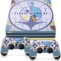 Controller Gear Officially Licensed Console Skin Bundle for PS4 Pro - Fallout - Please Stand By