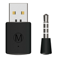 Wireless Bluetooth Dongle Latest Version USB Adapter Receiver For PS4 Headset