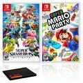 Nintendo Super Smash Bros. Ultimate Bundle with Super Mario Party