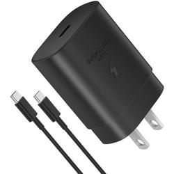 Samsung 25W USB-C Super Fast Charging Wall Charger for Samsung Galaxy Tab Active3, PD 25W Super Fast Charger with 3ft Type C Cable