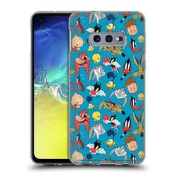 Head Case Designs Officially Licensed Looney Tunes Patterns Head Shots Soft Gel Case Compatible with Samsung Galaxy S10e