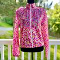 Kate Spade Jackets & Coats | Nwot Kate Spade Evening Jacket Rain Jacket Sm | Color: Pink/Yellow | Size: S