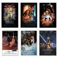 "Star Wars: Episode I, II, III, IV, V & VI - 6 Piece Movie Poster / Print Set (Regular Style Designs) (Size: 27"" x 40"" each) (Poster & Poster Strip Set)"