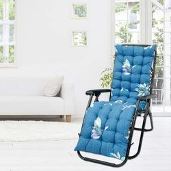 Willstar Sun Lounger Cushions, Lounge Chair Pads, Garden Sun Lounger Recliner Cotton Sofa Outdoor High Back Chair Seat Pad