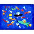 Oopsy Daisy - Dogs In Space Canvas Wall Art 24x18, Nancy Wolff