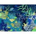 Oopsy Daisy - Deep Among The Reef Canvas Wall Art 24x18, Katie Vernon