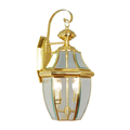 """Polished Brass Tone Finish Wall Sconces Solid Brass Material Candelabra 11"""" Wide 2 Light Fixture"""