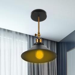 Kongsky Vintage Industrial Loft Style Irion Wall Light E27 Sconce Lamp Ceiling Light Lampshade Lamp