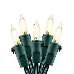 ASENEK Battery String Lights Battery Operated String Lights LED String Lights Christmas Lights Battery Powered String Lights (50 LED Warm White)