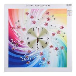 Andoer Watch Diamond Paintings DIY 5D Diamond Painting Crystal Special Shape Diamond for Home Wall Decoration