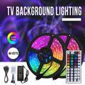 VSS-00591 5m LED Color Changing Strip Lights 5050 LED TV Backlight RGB Strip Light with Infrared Remote DIY LED Tape Strip for Home Gaming Lights,Christmas Decorations