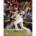Buster Posey Game Two of the 2010 World Series Action Photo Print (16 x 20)