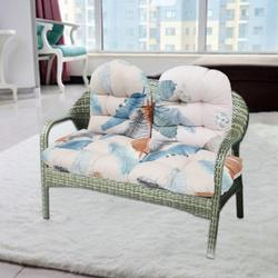 Willstar Outdoor Bench Cushion Pad, Soft Wicker Loveseat Cushion Garden Patio Swing Cushion Seat Cushions Chair Backrest Cushion