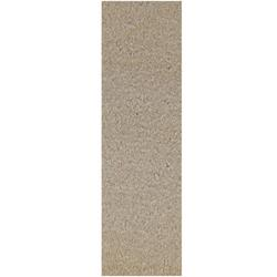Commercial Indoor/Outdoor Beige Custom Size Runner 3' x 28' - Area Rug with Rubber Marine Backing for Patio, Porch, Deck, Boat, Basement or Garage with Premium Bound Polyester Edges