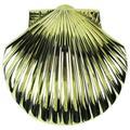 Solid Brass Scallop Shell Sea Life Door Knocker Beach Decor Seashell Doorknocker