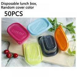 [50pc] Food Storage Containers with Lids - Food Containers Meal Prep Plastic Containers with Lids Food Prep Containers Deli Containers with Lids Freezer Containers