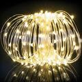 200 LED 20M Outdoor Solar Christmas Lights, Modes Super Bright Fairy Lights, Waterproof Solar String Lights Copper Wire Solar Lights Outdoor Lights for Garden Patio Yard Trees Party