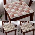 PURATEN Floral Lace Seat Cushion Outdoor Indoor Soft Tie On Chair Pad Home Decoration
